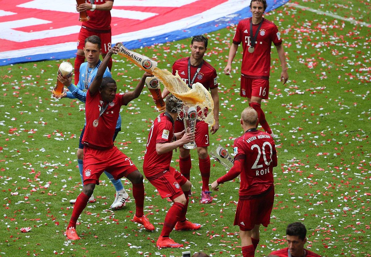 Bayern munich news -Bayern celebrate title