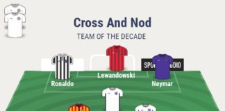 CrossAndNod's Team of The Decade