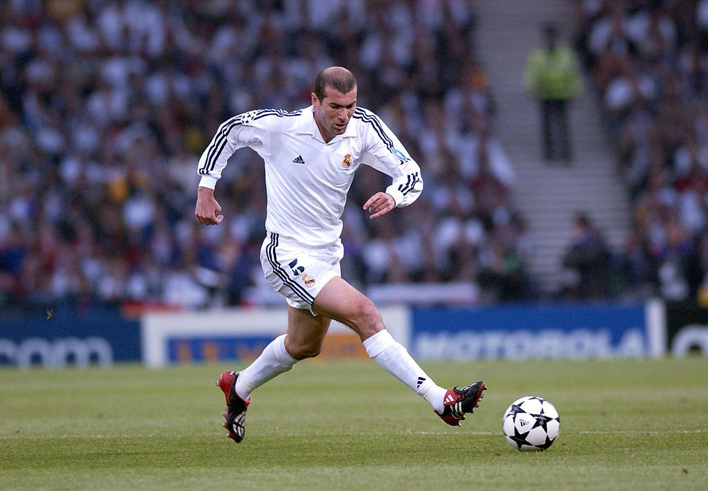 Types of midfielders - Zidane