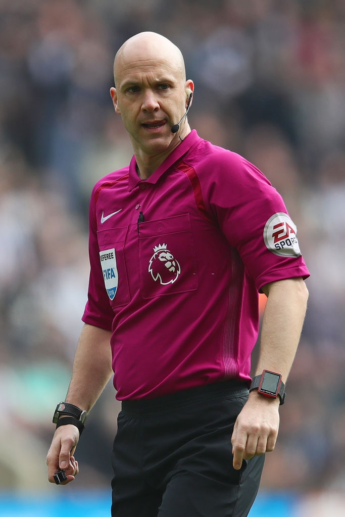 Select Group One Premier League Referee Anthony Taylor