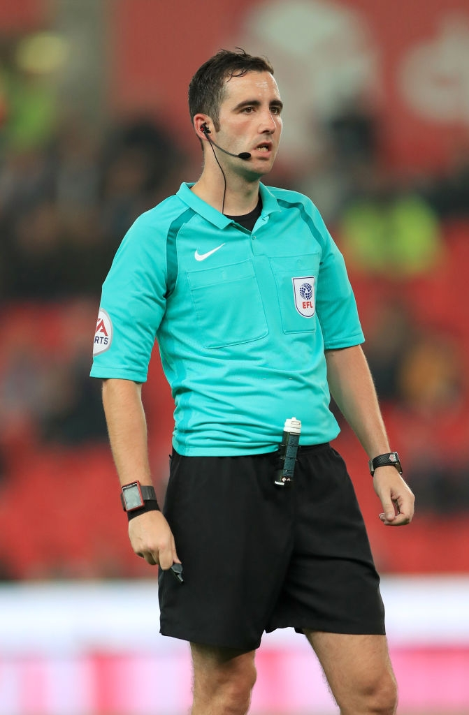 Select Group One Premier League Referee Chris Kavanagh