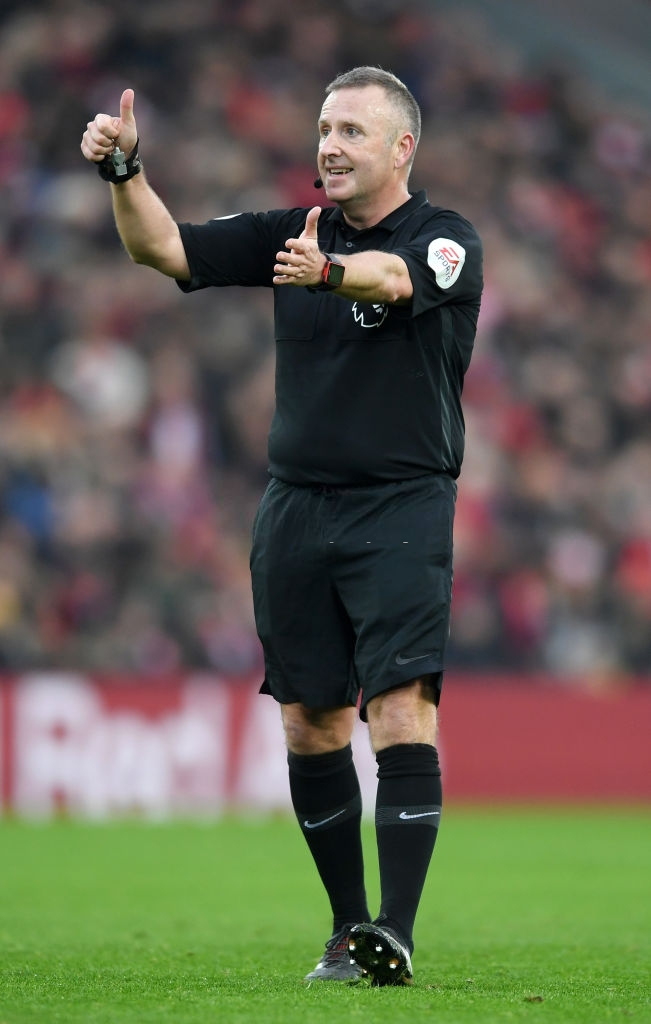 Select Group One Premier League Referee Jonathan Moss