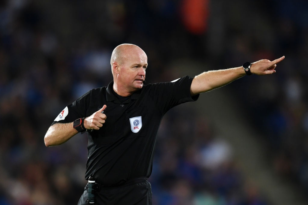 Select Group One Premier League Referee Lee Mason