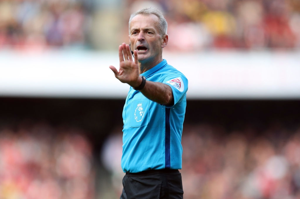 Select Group One Premier League Referee Martin Atkinson