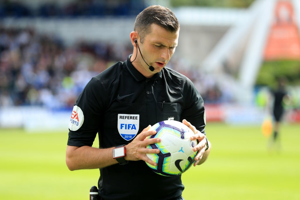 Select Group One Premier League Referee Michael Oliver
