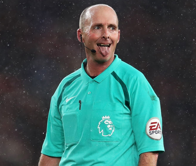 Select Group One Premier League Referee Mike Dean
